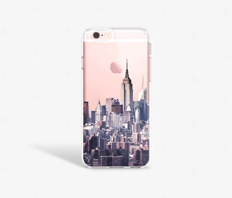 New York iPhone 7 Case Clear iPhone 8 Case iPhone 7 Plus Clear Case iPhone 6S