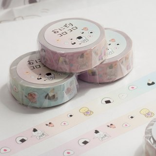 Rice ball designed masking tape.KOROKORO!