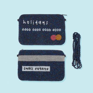 人手制Holidays Credit Card 小手袋