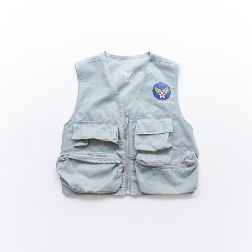 vintage U.S. AIR FORCE vest 背心 香蕉猫。Banana Cats