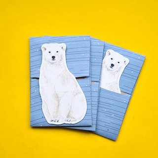 small envelope with card/Polar bear