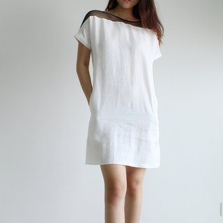 Made to order linen dress / linen clothing / long dress / casual dress E16D