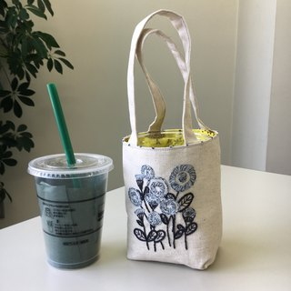 Cafe bag Small flower round