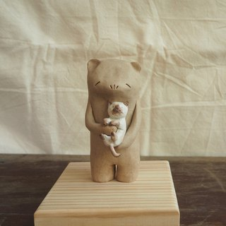 Bear cats lover gapN studio Ceramics
