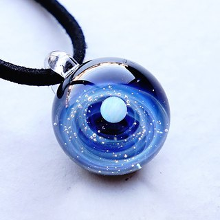 You are the only star. ver1 glass pendant universe