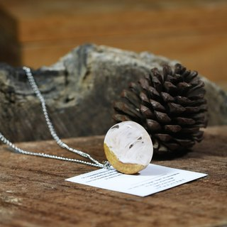 *IN STOCK* Wonder burl wood collection - ROSE necklace