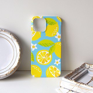 Plastic iPhone case - Citrus Limon -