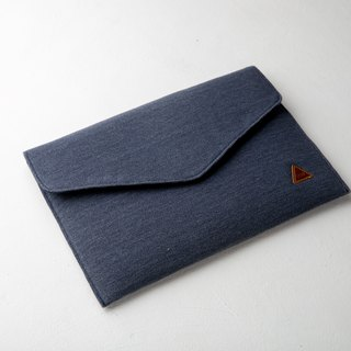 Blue Rustic Envelope Labtop Soft Case