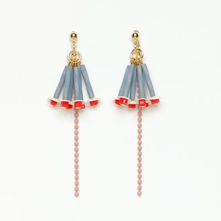 rhododendron bead earrings · earrings