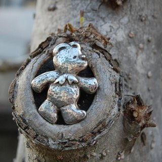 Bear brooch [SILVER 950]