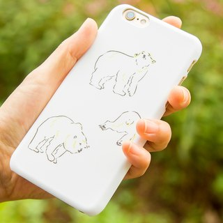 THREE POLAR BEARS smartphone case (iPhone case / Android case)