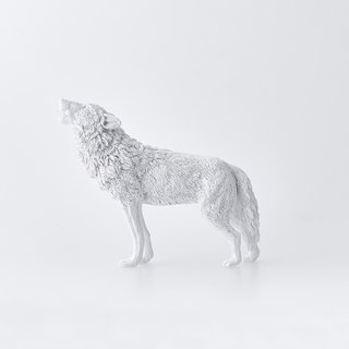 动物纸镇摆饰 –狼 / Animal Paperweight - Wolf