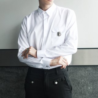 'Mr.Smith' Everyday Shirt (White)