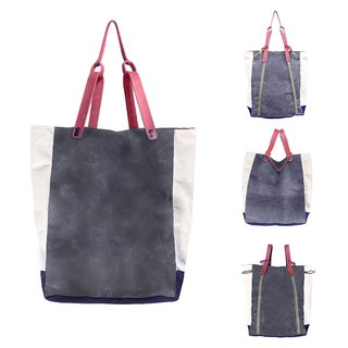 Charcoal Convertible Bodega Tote, Backpack
