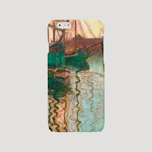 iPhone 7 case green iPhone 6 case river iPhone 6 Plus 7 Plus case classic art iPhone 5s cover boat iPhone 4 case Samsung Galaxy S4 S5 S6 case water 214