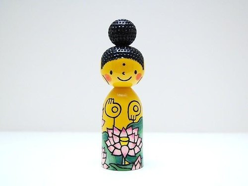 Hana Amitabha customers * Kokeshi * gold * lotus [10]