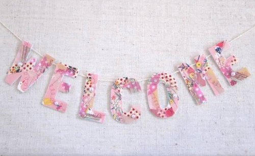 WELCOME GARLAND