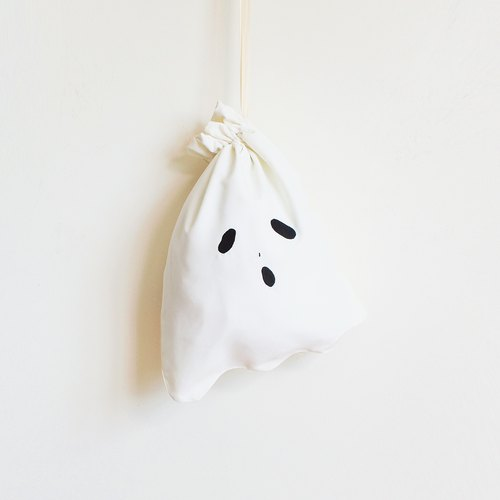 ghost lunch bag ② (off-white)