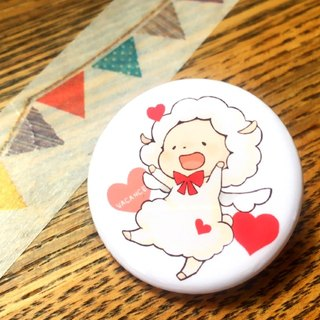 Can Badge (Valentine Sheep)