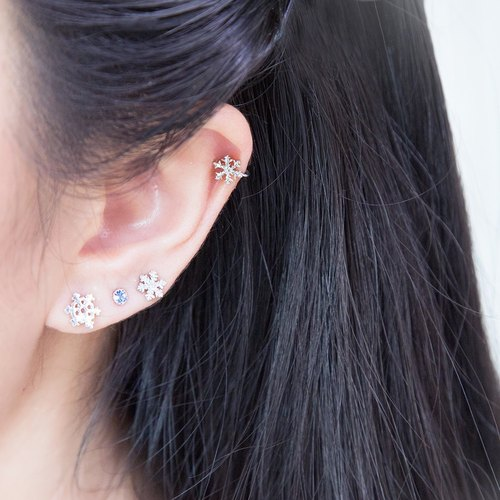 Little Snowflake Ear Cuff