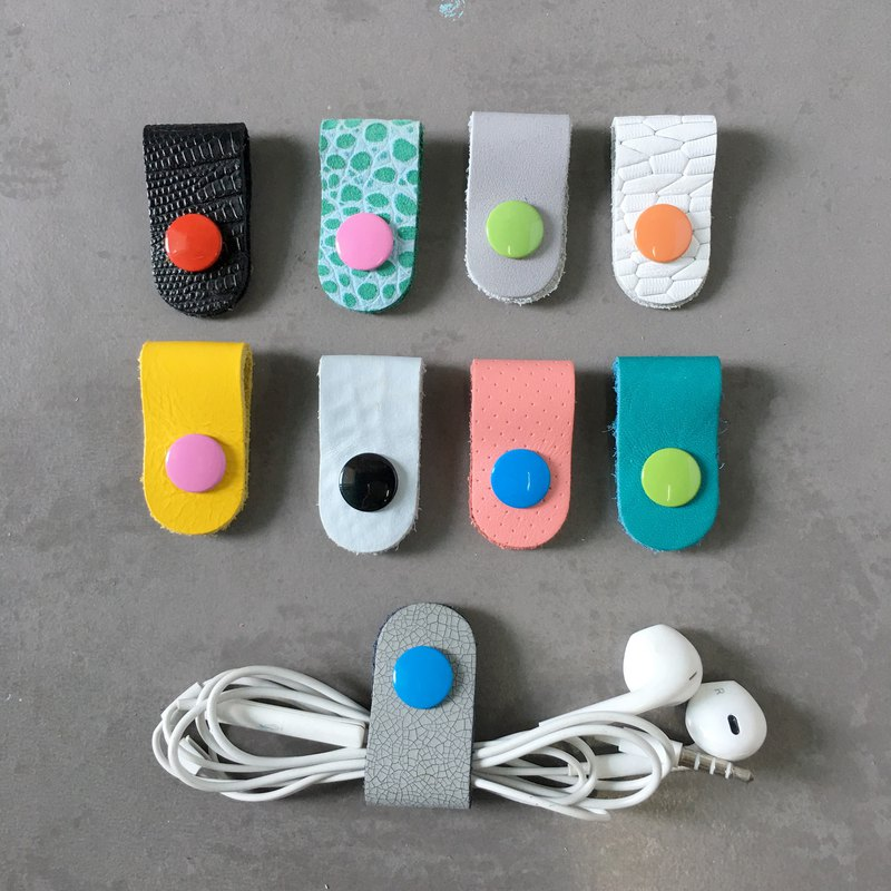 9 Genuine Leather Earphone Organize #10