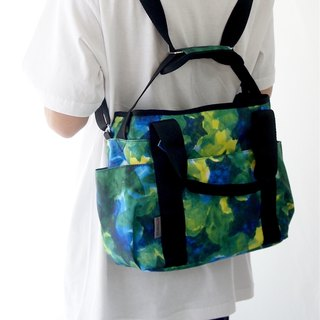 Star camouflage tote bag- S-size/wheel chair bag