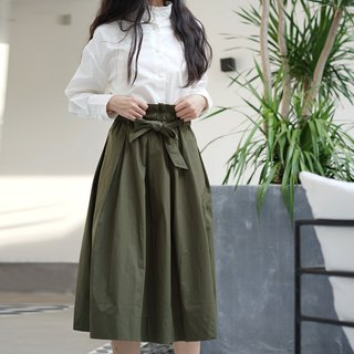 ee18/ Army Green Skirt