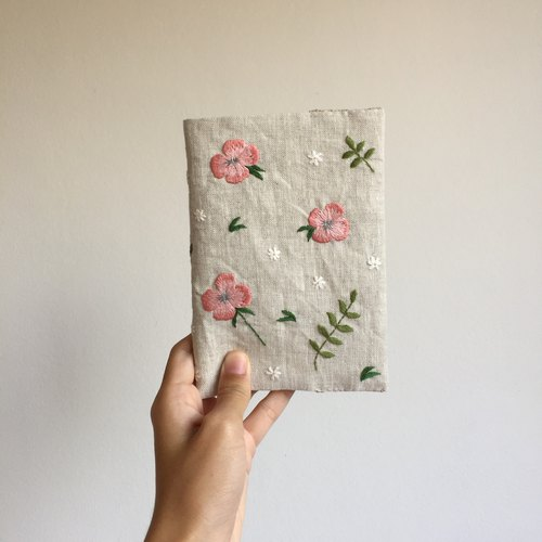 Removable Fabric Book Jacket #2