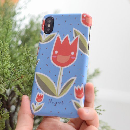 The Tulips iphone case for iphone5s, 6s, 6s plus, 7, 7+, 8, 8+, iphone x