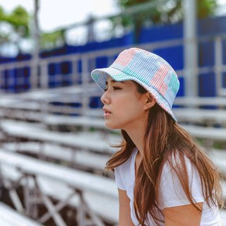 Bucket Hat - Colored Checks