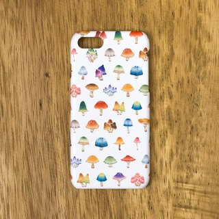"Fragments of a picture book. Smartphone Case ""Multicolored Mushroom"" SC-229"