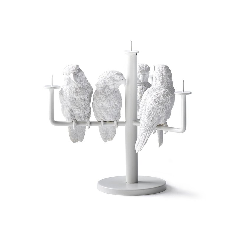鹦鹉烛台 / Parrot X Candle Holder_four parrot