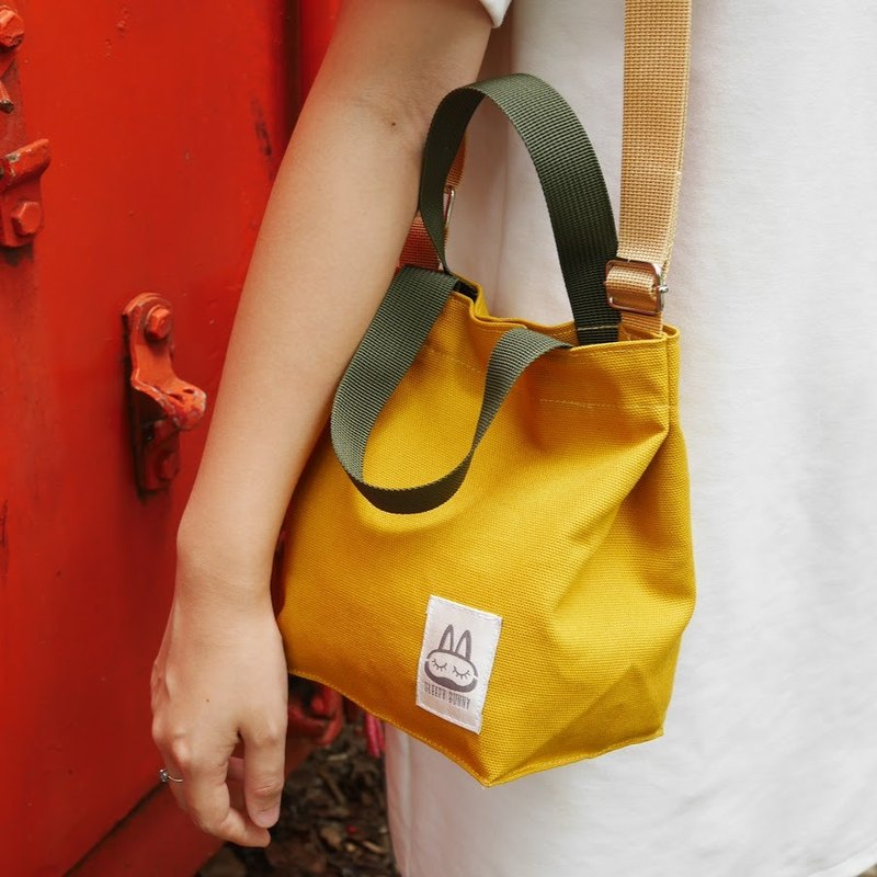 Canvas Bag Mini Bunn : Yellow Mustard