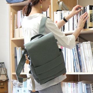 loiter: Wasabi Kurashiki canvas backpack