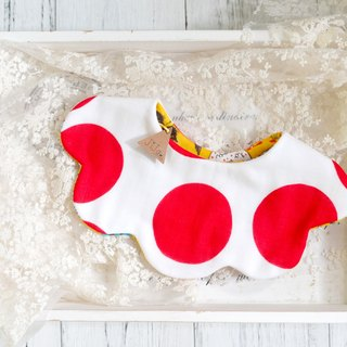 RED DOT DOT BABY BIB