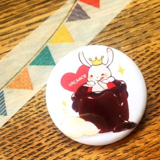 Can Badge (Valentine Rabbit)