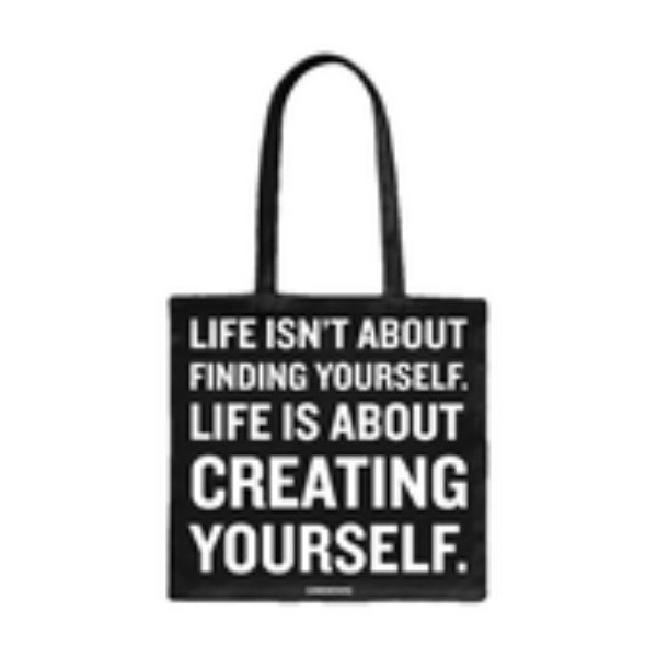 Creating Yourself 帆布袋