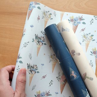 Reusable Wrapping papers (Collection 4) : Set of 3