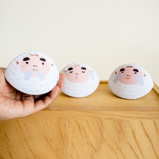 The three wise monkeys coin purse. Good meaning for New Year gift.