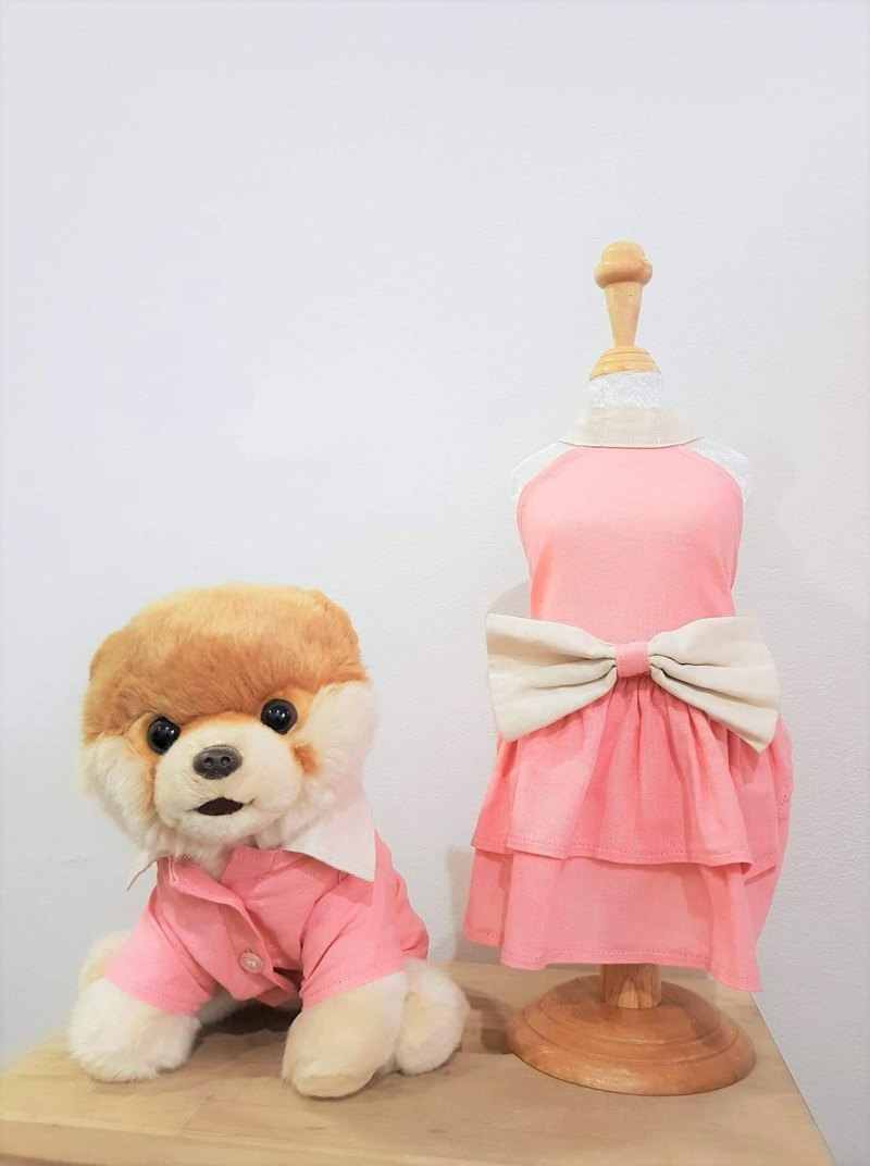 Dog/Cat Clothes Candy Pink Colour