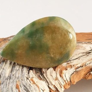 Burmese natural jade brooch