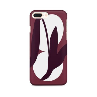 Red Tea Leaves  - Phone Case