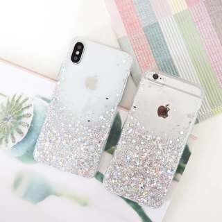 silver luxury | case, phone case, glitter case, iphone case, samsung case