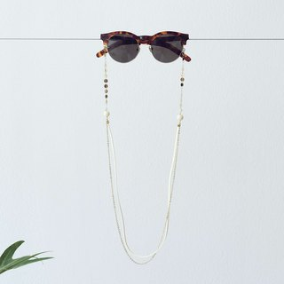 Sunglasses chain Gold Pop Stars