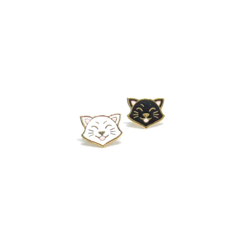Gubjung & Friends Cat earring