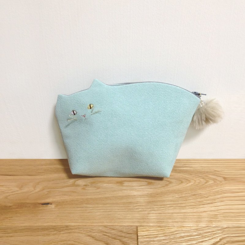 Kittenko Pouch 007 Ishi Color Beard 【Make-to-order】