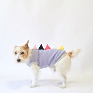 "Cool-feel Materials Dog Shirt / Dino dog ""Moonlight Circus"""