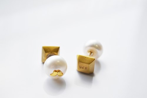 Beard earrings