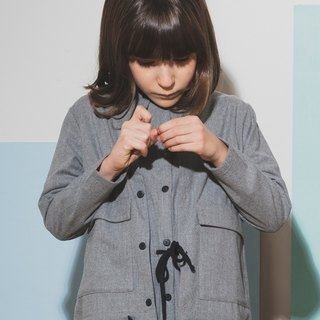 Overshirt Light Grey 4-5Y