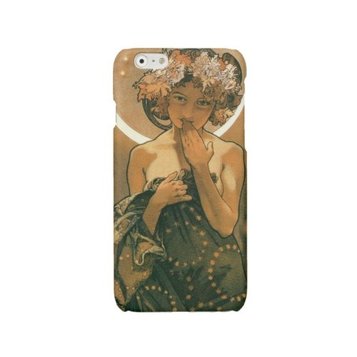 Mucha cell iPhone 7 case iPhone 6 cover night iPhone 6 Plus case iPhone 5 case Modern Style iPhone 4 case Art Nouveau Samsung Galaxy S4 S5 S6 S7 421
